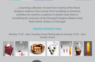 Pop Up Shop Ardara Winter Opening